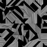 Black And White Pattern Vector Royalty Free Stock Photography