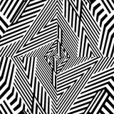 Black And White Pattern Vector Stock Photography