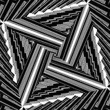 Black And White Pattern Vector Stock Photo