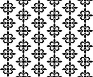 Black and white pattern. Vector illustration of a black and white pattern Stock Photography