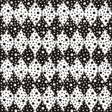 Black-and-white pattern Royalty Free Stock Image