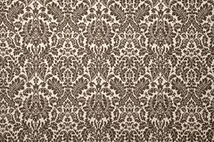 Black and white pattern wallpaper. Stock Photography