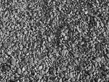 Pebbles background. Black and white pebbles background Royalty Free Stock Photography