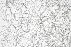 Black and white pencil abstraction royalty free stock photo