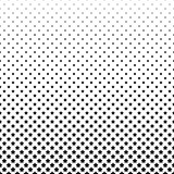 Black and white pentagram star pattern background Stock Photo