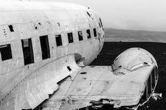 Sólheimasandur Plane Wreck, Iceland Royalty Free Stock Images