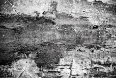 Black-white photo of stone texture as background Stock Images