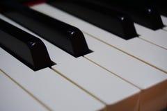 Black and white. Piano keys mono stock images