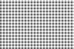 Black and white plaid pattern seamless Royalty Free Stock Images