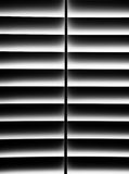 Black and White Plantation Shutter for Privacy Royalty Free Stock Photography