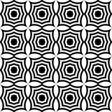 Black and white pointy squares Stock Photography