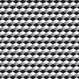 Black and white polygon with gray shade pattern background. Vector illustration image Royalty Free Stock Photography
