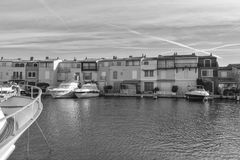 Port Grimaun in black and white