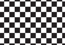 Black and White racing style pattern. Royalty Free Stock Photography