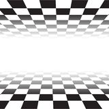 Black white random square mosaic, tiles background. Perspective banner squares. Background with polygonal squares tiles. Texture for pool, walls, bathroom stock illustration