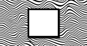 Black and white random wavy background stock illustration