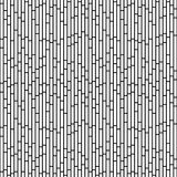 Black and White Rectangle Slates Tile Pattern Repeat Background Stock Image