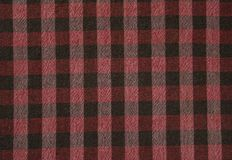 A black white red squares on the fabric royalty free stock images