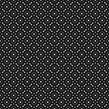 Black & white repeat ornamental texture Royalty Free Stock Image