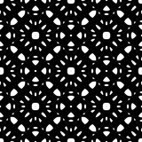 Black & white repeat ornamental texture Stock Photography
