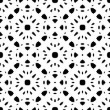 Black & white repeat ornamental texture Stock Image