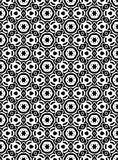 Black and white  seamless repeat pattern and background vector image. Black and white  repeat pattern and background image seamless vector image useful for Royalty Free Stock Photography