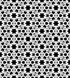 Black and white seamless repeat pattern and background vector image Stock Photos