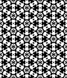 Black and white  seamless repeat pattern and background vector image. Black and white  repeat pattern and background image seamless vector image useful for Royalty Free Stock Photos