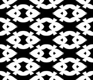 Black and white repeat pattern and background seamless vector image. Black and white  repeat pattern and background image seamless vector image useful for Royalty Free Stock Photo
