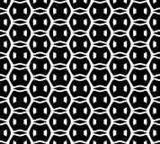 Black and white repeat pattern and vector image abstract background. Useful for knitting,wallpaper, printing and embroidery industry royalty free illustration