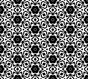 Black and white repeat pattern vector and seamless background image. Design useful for wallpaper  advertisement  cover page banners albums cards  printing Stock Images