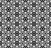 Black and white repeat pattern vector and seamless background image. Design useful for wallpaper  advertisement  cover page banners albums cards  printing Stock Photos