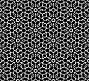 Black and white repeat pattern vector and seamless background image. Design useful for wallpaper  advertisement  cover page banners albums cards  printing Stock Photography
