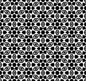 Black and white repeat pattern vector and seamless background image. Design useful for wallpaper  advertisement  cover page banners albums cards  printing Royalty Free Stock Photography