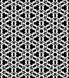 Black and white repeat pattern vector and seamless background image. Design useful for wallpaper  advertisement  cover page banners albums cards  printing Stock Photo