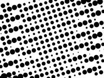 Black and white retro pattern Stock Photography