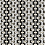 Black and White Retro Pattern Royalty Free Stock Images