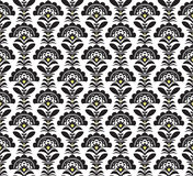 Black and white Retro pattern. Vector formate Royalty Free Stock Photography