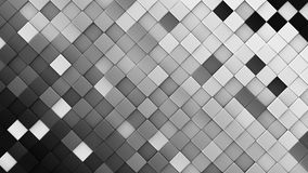 Black and white rhombs 3D render. Black and white rhombs. Computer generated abstract geometric background. 3D render illustration Royalty Free Stock Images