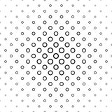 Black and white ring pattern background design Royalty Free Stock Image