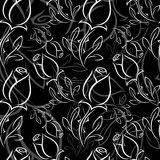 Black and white rose Royalty Free Stock Photo