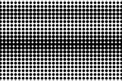 Free Black White Rough Dotted Gradient. Half Tone Background. Royalty Free Stock Images - 108914099