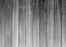 Black and white rough wood plan Royalty Free Stock Images
