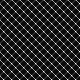 Black white rounded square pattern background Stock Images