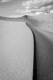 Black and White sand dune image. Stock Photos