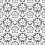 Black and white scales pattern stock photo