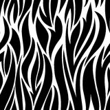 Black and white seamless Royalty Free Stock Images