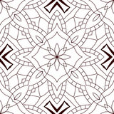 Black and white seamless abstract pattern. Stock Photography