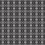 Black and white seamless check geometrical pattern Royalty Free Stock Photo
