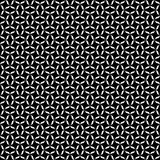 Black and white seamless checks geometrical pattern. A seamless, repeating geometrical vector checks pattern in black and white.. best for fabric print. it can royalty free illustration